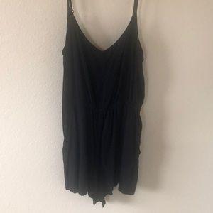 2/$8 -Black short romper